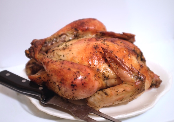 Roasted Lemon Herb Chicken Recipe