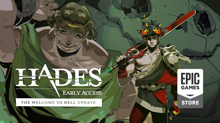 hades welcome to hell update live supergiant games early access epic store pc rogue-like dungeon crawler game