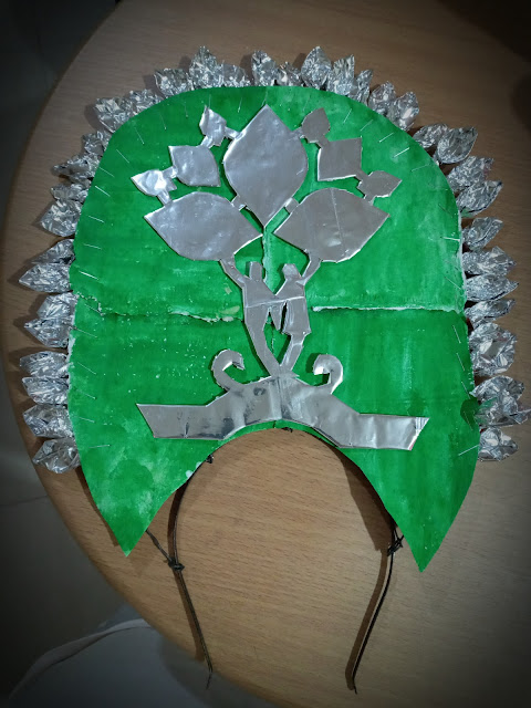 recycled headdress