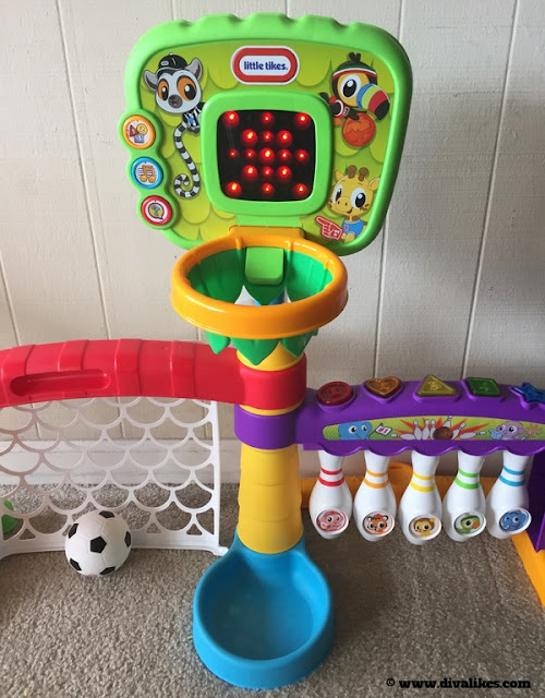 Little Tikes 3-in-1 Sports Zone Basketball