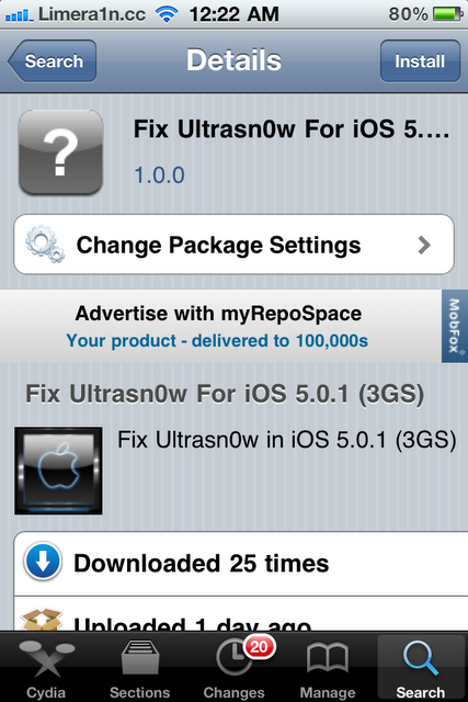 How To Unlock iOS 5.0.1 Running On iPhone 4 And iPhone 3GS With Ultrasn0w