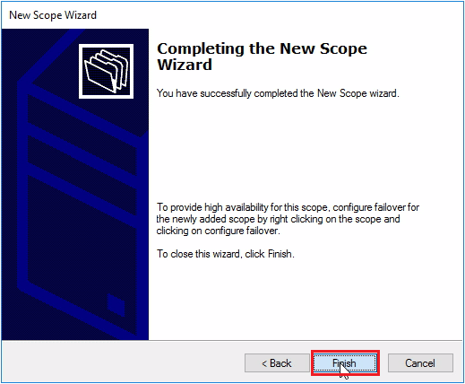 Installation and Configuration DHCP Server on Windows Server
