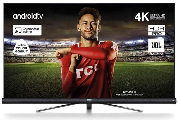 TCL 65DC762: Smart TV 4K de 65'' con Android TV, control por voz y altavoces Harman/kardon