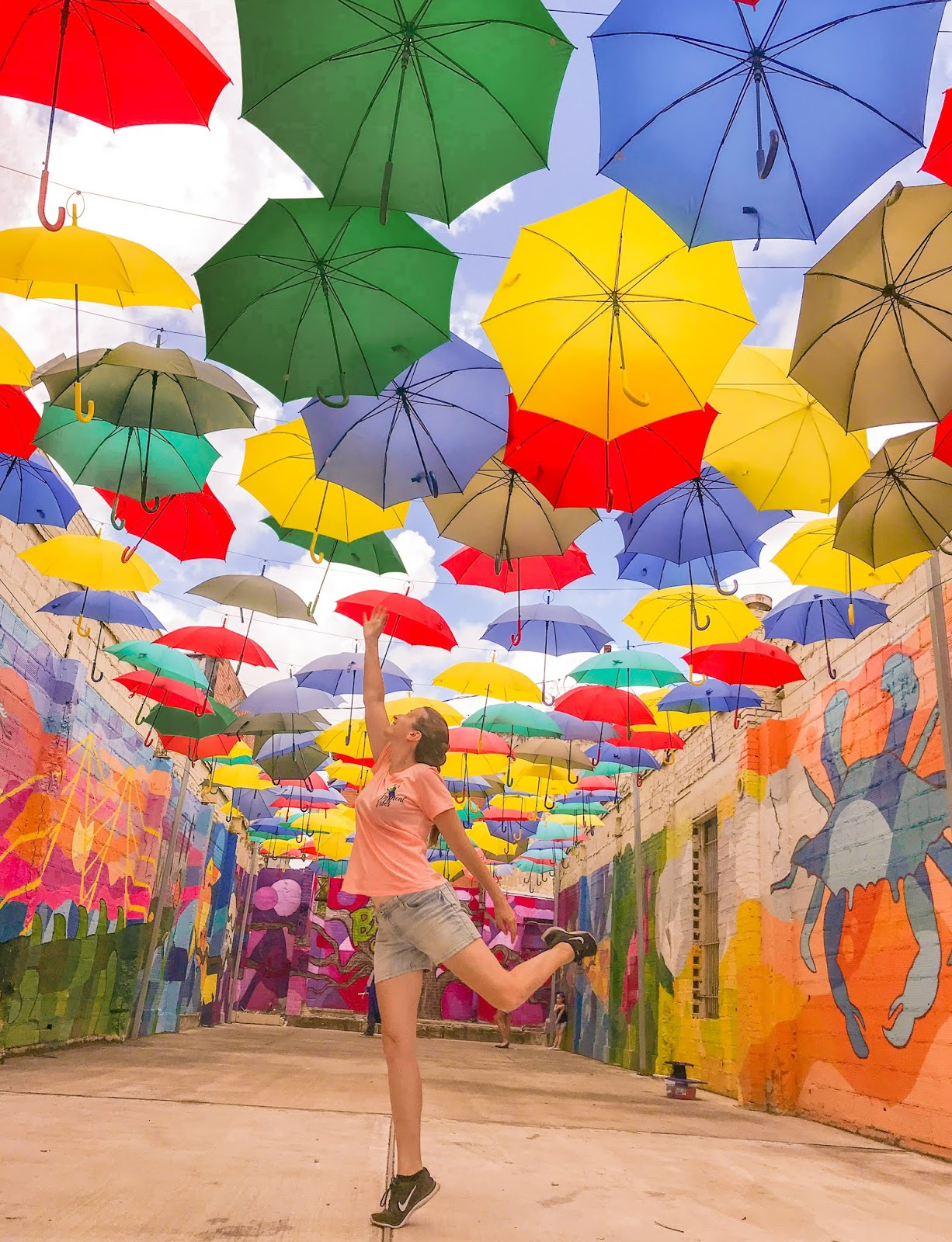 The Umbrella Alley in Baytown, TX