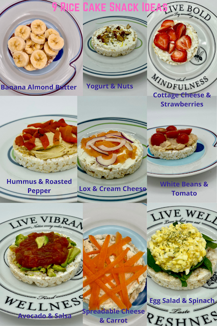 Snack Time—9 Rice Cake Combos Served Up on Livliga