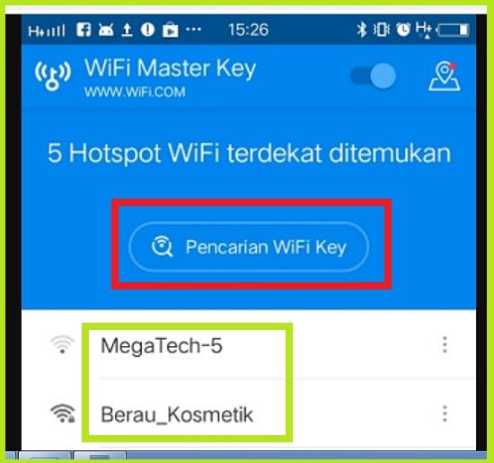 Cara Hack WIFI Menggunakan WiFi Master Key 3