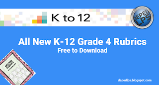 All New K-12 Grade 4 Rubrics Free to Download
