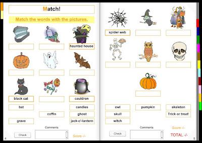 Halloween Interactive Book