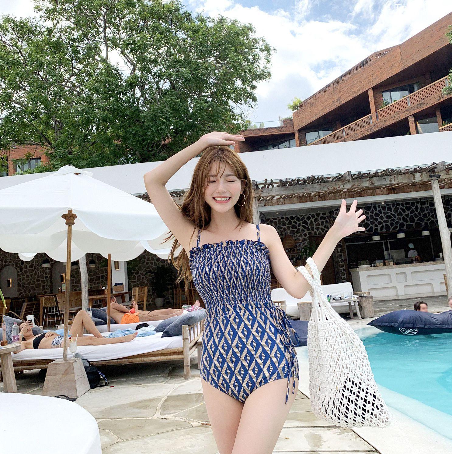 Image Korean Fashion Model - Cha Yoo Jin - Diamond Smoke Monokini - TruePic.net - Picture-4