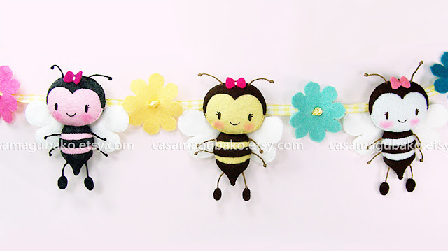 Bee Garland by casamagubako.com