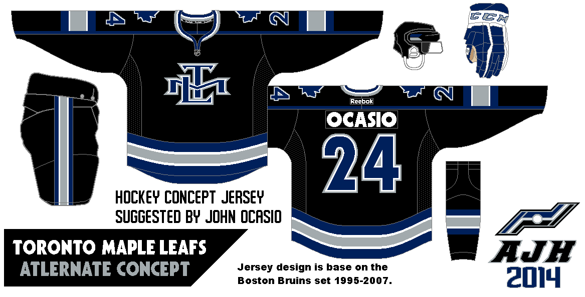 The home and road isn t the one that got request done. I put together an alternate  jersey as part of the request from John Ocasio. c85411613