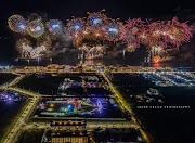 Spectacular Footage of Fireworks display Competition at SRP Cebu