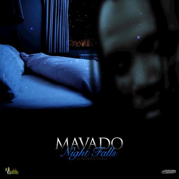 Mavado - Night Falls - Single Cover