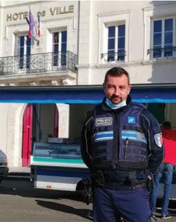 Mickaël Calle, nouveau policier municipal de Cour-Cheverny