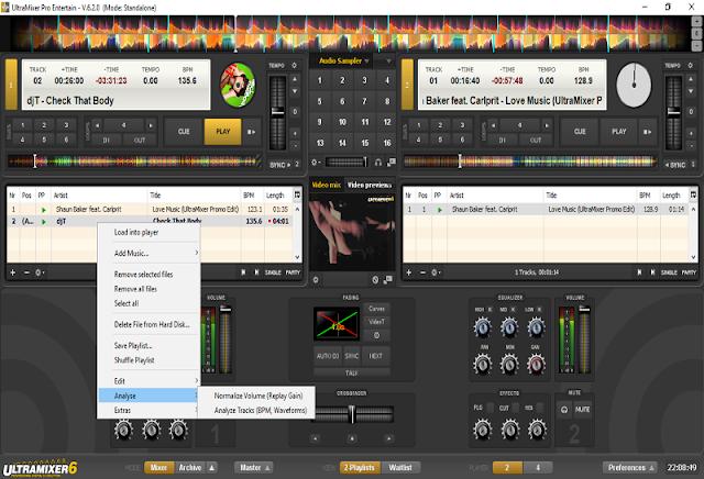 UltraMixer Pro Entertain v6.2.0 - Phần mềm DJ tuyệt vời
