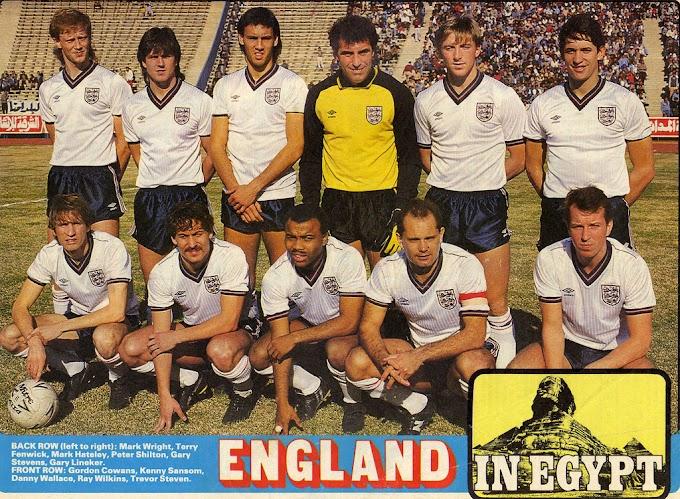 ANGLETERRE 1986.