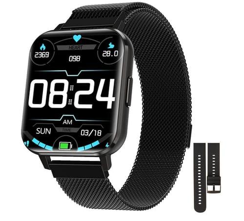FIXTOR 1.78 Full Touch Screen Men Women Smartwatch