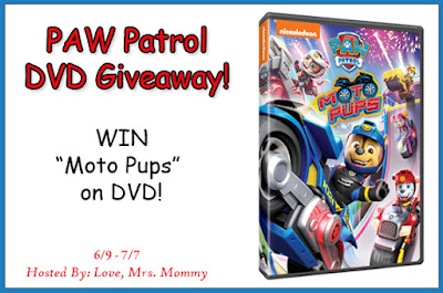 Paw Patrol, Moto Pups, Moto Pups DVD, Preschool shows, Nickelodeon TV Shows