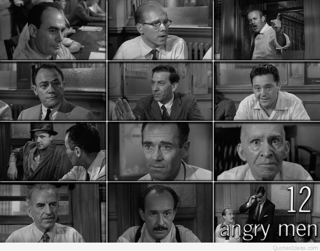 Top 12 Angry Men quotes wallpapers