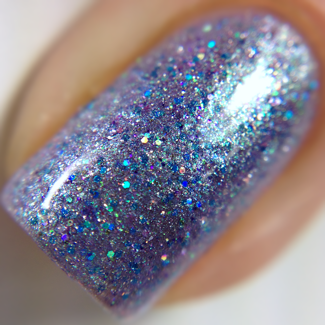Sassy Pants Polish-Blue Orchid