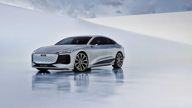 Audi A6 E-Tron الاختبارية