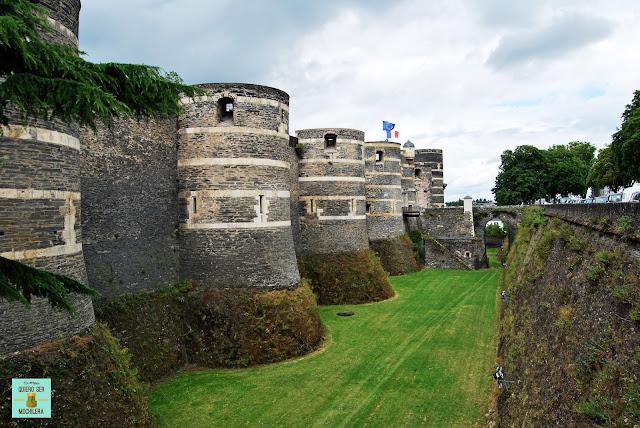 Castillo de Angers, Valle del Loira