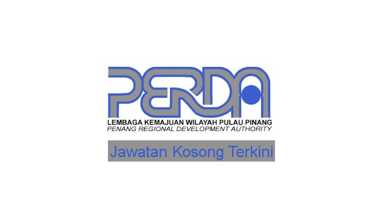Kekosongan Terkini di Lembaga Kemajuan Wilayah Pulau Pinang (PERDA)