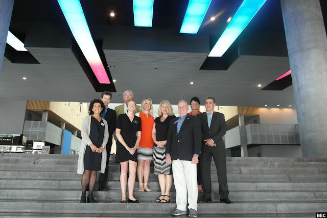 Delegación empresarial de Idaho en su visita a BEC!