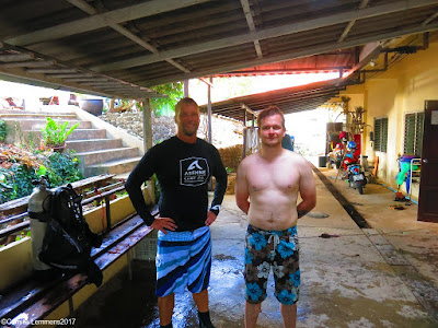 PADI IDC for March 2017 on Phuket has started