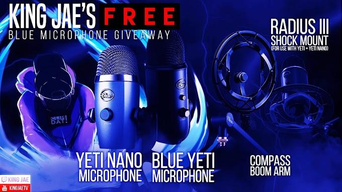 Sorteio Headset ASTRO A40, Microfone Blue Yeti e mais
