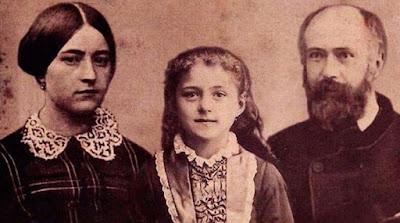 imagem da família de Santa Teresinha do Menino Jesus