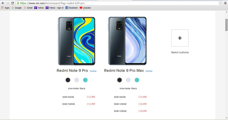 Beda Redmi Note 9 Pro dan Redmi Note 9 Pro Max