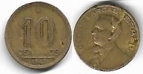 10 centavos, 1947