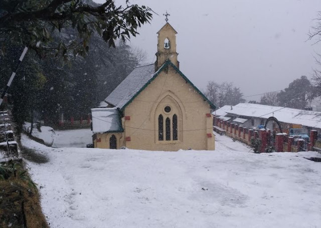 Dalhousie Attraction - St. Patricks Church Dalhousie