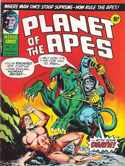 Marvel UK, Planet of the Apes #17