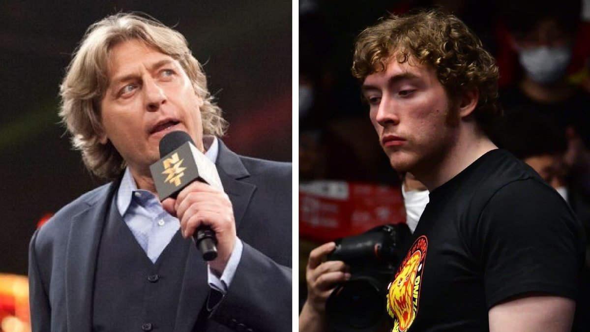 Filho de William Regal assina contrato com a WWE