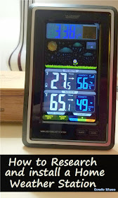 how to install an easy personal home weather station