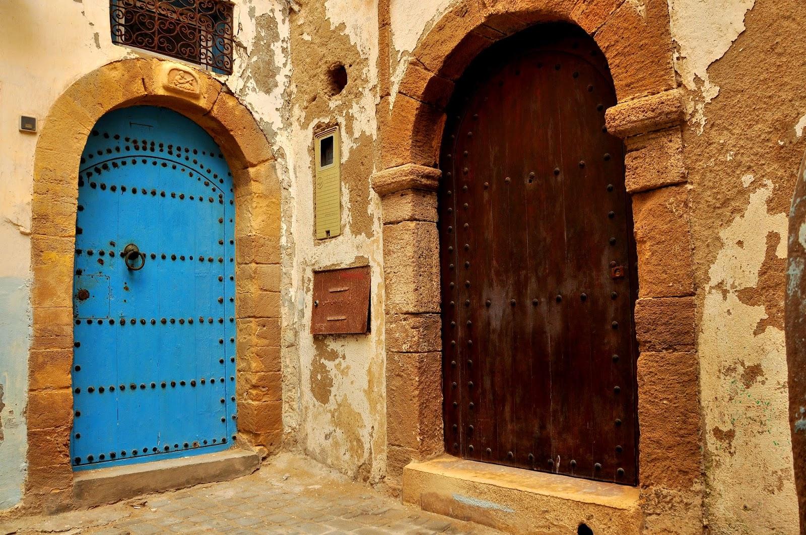 colores y texturas de las puertas en Marruecos, viaje a Marruecos, decoración vintage, lifestyle