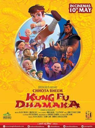 Chhota Bheem Kung Fu Dhamaka 2019 HDRip 480p 300Mb Hindi