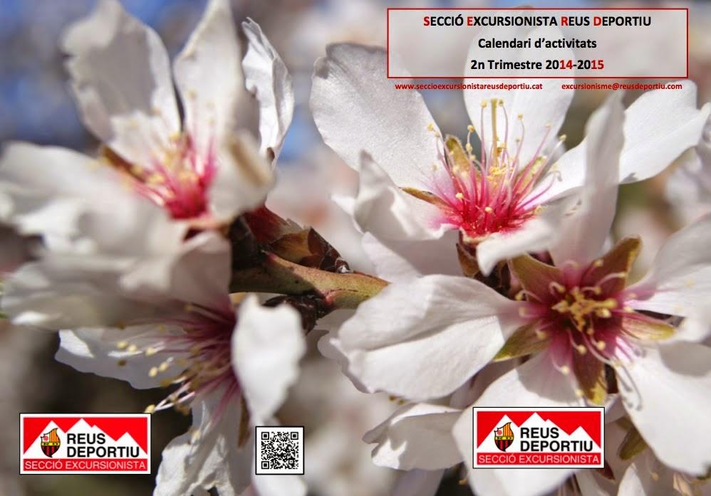 Calendari d'activitats 2n Trimestre 2014-2015