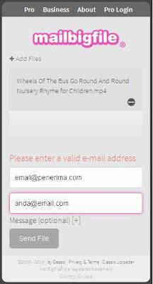 Cara Kirim File Besar | Solusi Kirim File Besar Melalui Email | Transfer File Besar Via Internet Gratis