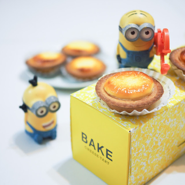 bake cheese tart boxes singapore review