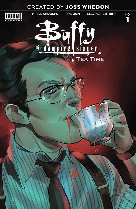 Cover of Buffy the Vampire Slayer: Tea Time #1