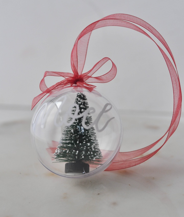 easy-peasy DIY Christmas Ornament