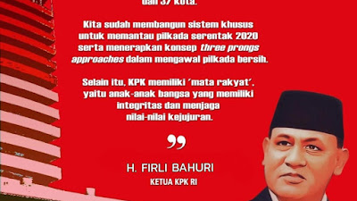 Ketua KPK RI, Wujudkan Pilkada yang Berintegritas,  Bermartabat, dan Bebas dari Korupsi