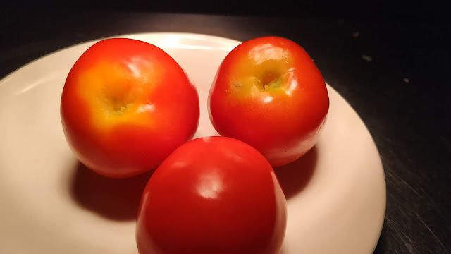 De eyed tomato for pizza Recipe