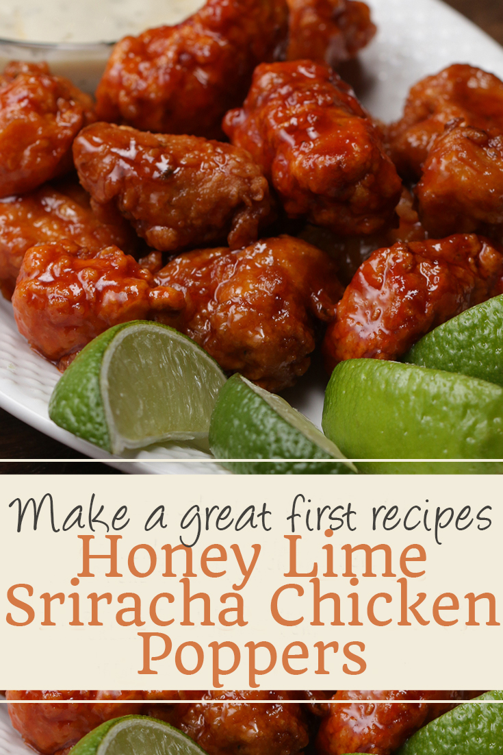 Honey Lime Sriracha Chicken Poppers | chicken recipes, crock pot recipes, chicken breast recipes, easy chicken recipes, soup recipes, chili recipe, chicken casserole, slow cooker recipes, chicken salad recipe, meatloaf recipe, chicken thigh recipes, chicken casserole recipes, chicken curry recipe, chicken soup recipe, chicken dishes, baked chicken recipes, baked chicken, healthy chicken recipes, lasagna recipe, chicken recipes for dinner, rice recipes. #honey #lime #sriracha #chicken #proppers