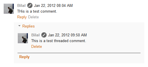 How to enable threaded comments in customized blogger for Comments html template