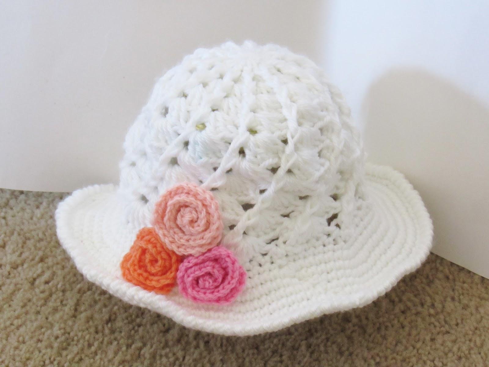 Crochet Dreamz: April Sun Hat, Crochet Pattern, Includes ...