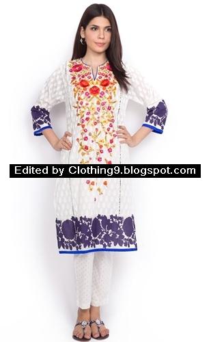 Sana Safinaz Embroidered Eid Collection 2015